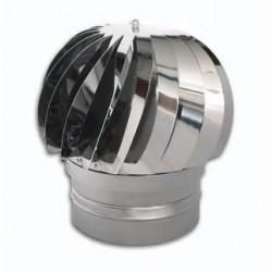 Terminale cappello eolico - canna fumaria inox - monoparete