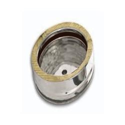 Tappo condensa aperto acciaio inox doppia parete