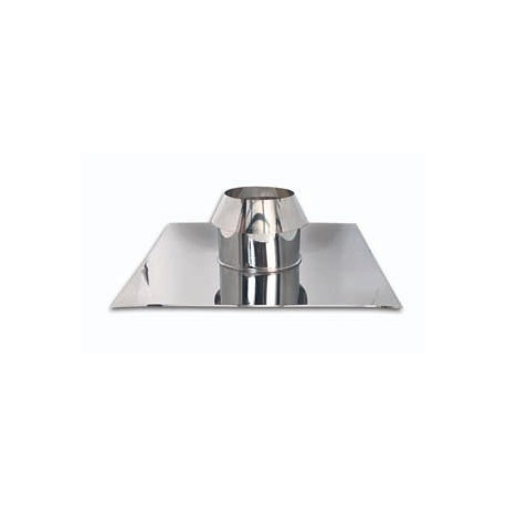 Canna fumaria faldale piana doppia parete per tetti piani